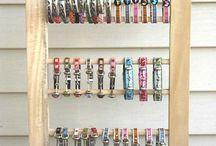 Wooden Bracelet Stands