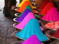 Colors/Textiles/Fabrics / Color Inspiration!