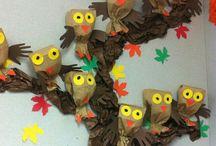vtáci na jeseň
