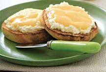 Jam, marmalade, butter