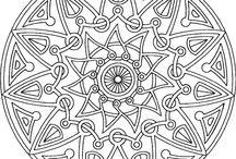 Mandala's & Adult coloring