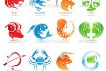 Zodiac signs stitch