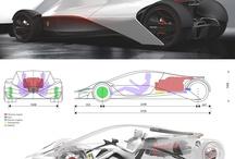 Cars - Futuristic / Automotive Design