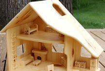 DOLL  HAUSE / case di bambole