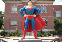 "Metropolis,  Illinois-""Superman's Hometown!"" / by Mary Martin Blaine"