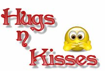 M✿Bisous / #baisers #hugs #kisses #besos #beijos #message