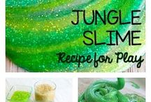 slime / fun for everyone slimy, silky and smooth