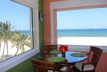 Pompano beachfront Vacation condo rentals / Pompano Beach Centrally located between Palm Beach and Miami, Pompano Beach is often called the Heart of the Gold Coast.
