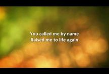 On My Knees... / My favorite contemporary Christian worship