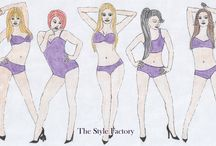 TSF - Body types / What's your body type??How to dress for your body shape?? Find your sharp. Boby types for female and male.