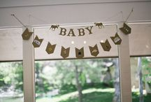 Christina's camp themed baby shower / #Babyshower, camp themed, boy, diy / by Ariel Pearson