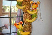 Frukt/grønt på spesielle måter