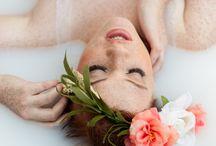 Milk Bath Photography / Denver portrait photographer Melissa Mullins is the milk bath photo expert!