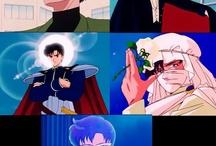 Mamoru,Tuxedo mask,prine Endymion ,Moonlight knight and king Endymion