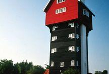 TOWER~Belfry, Citadel, Lookout, Minaret, Obelisk, Steeple, Turret / by Kathy Goins