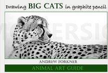 Drawing Big Cats in Graphite Pencil