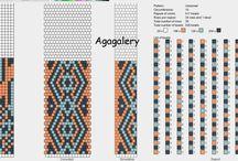 Wzory na sznury szydełkowe / sznur szydełkowy