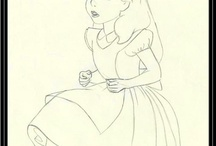 Disney Art ºoº  ºoº   / by Kimberly Hamner