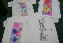 Tričká maľované (shirts painting)