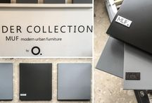 Shader Collection MUF by Studio.O. / This is about the collection of colors that we have created in our workshop.