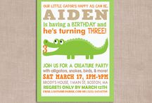 Creature Party / Leon's 4th Birthday Ideas