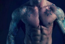 Muscled and Tattooed / muscles + Tattoos = sexy
