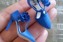 Zapatos manualidades