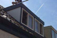 Dakkapel Zaandam / Plaatsing van een kunststof dakkapel van 3.000 x 1.500 mm. in Zaanstad.