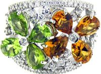 """Gemstone Citrine / Gemstone Citrine – a member of the quartz mineral group is the birthstone of November. It is also the gem that celebrates the thirteenth marriage anniversary. Often called the """"Stone of the Mind"""", the miraculous gem is believed to increase the wearer's psychic powers."""