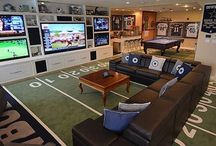 Man Cave / All the inspiration you need to create that perfect mancave!