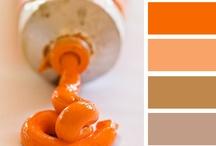 ORANGE - NARANJA / Todo acerca del naranja sus combinaciones y efectos en el diseño. All about orange combinations and effects in design.