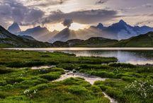 Les Lacs de Fenêtre dans le Val Ferret