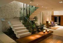 Interior + stairs