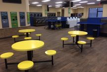 SpinZone Laundry SoCo / 2424 S Congress Ave Austin, TX 78704 (512) 447-2700  Open 24 Hours!!