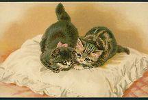 gatitos vintage