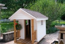 Custom Playhouse for the Magic of Childhood.  Chicago, IL / Woods Home Improvements is creating a custom playhouse line for children.  Chicago, IL