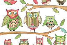 Owls / by Karen Coombs