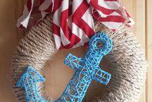 Wreath ideas / by Jennifer Followell Pena