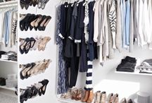 Walk in closet / Inspiration for walk in closet and accessoires