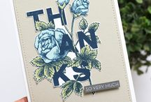 "Stampin Up - ""Thanks"" & ""Hello"""
