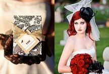 Halloween Wedding -- Red & Black / by Sharon Rose Berger