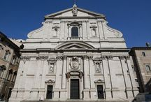 ROME - baroque - architecture (towerless facade)