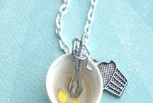 Wear your food... / The cutest trinkets and baubles around to easily proclaim your love of food! / by PhoenixBites