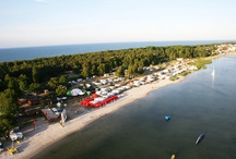 Hel peninsula and polish seaside