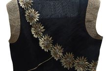 smart motif for blouse embroidery