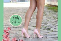Becky 24,99€ || Γυναικεία Γόβα Λουστρίνι Ροζ
