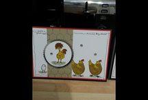 Hey chick card