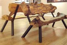 ferro e madeira