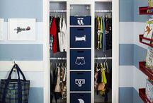 Organizador de guarda roupa
