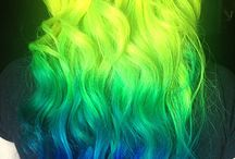 awesome hair <3 / alternative hair